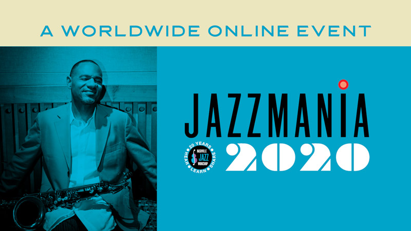 Promotional poster for Jazzmania 2020