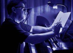 Pat coil Piano Blue