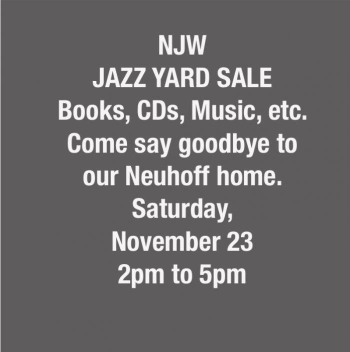 Jazz Yard Sale