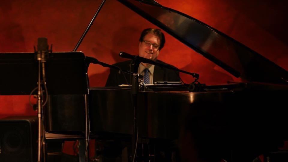 Jody Nardone at piano in Jazz Cave