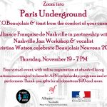 Paris Underground Event