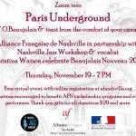 Paris Underground Event