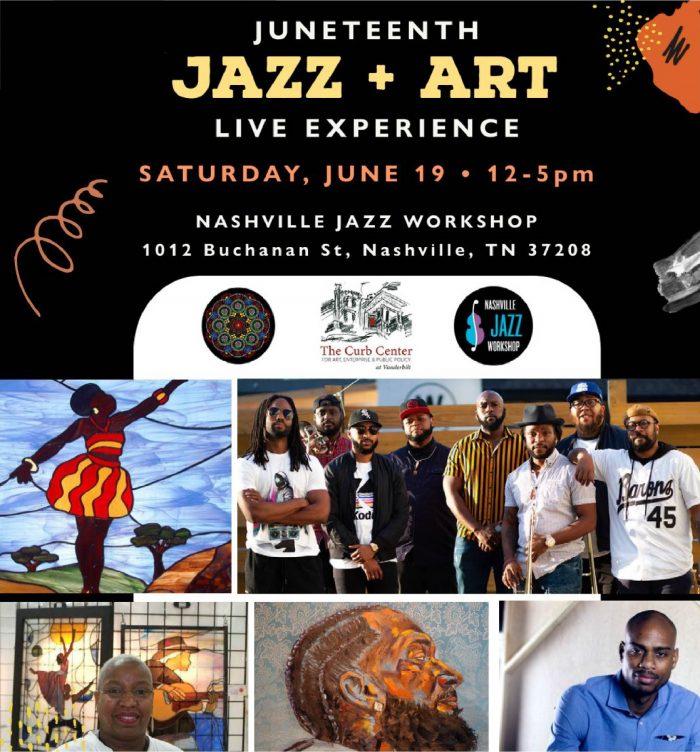 Juneteenth Jazz+Art Live Experience