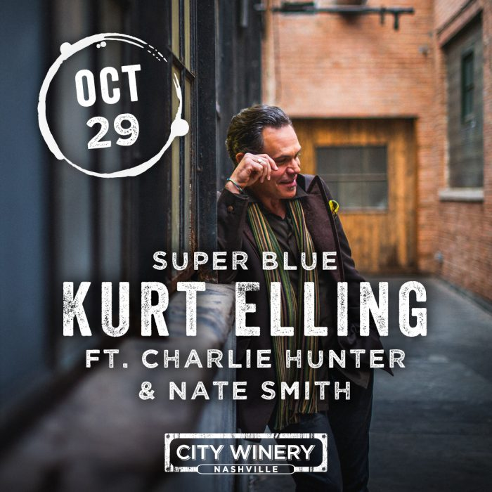 Superblue: Kurt Elling ft. Charlie Hunter & Nate Smith @ City Winery